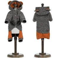 Осенне-весенний костюм для собаки Микки XS-2, Длина спины 26-28 см, обхват груди 32-38 см