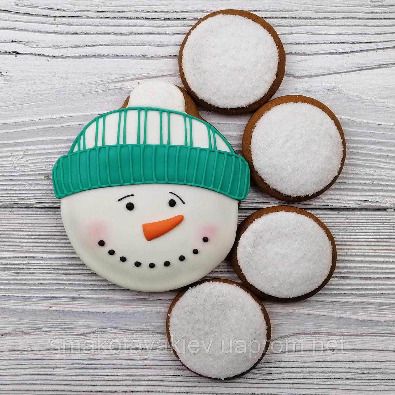 "Набор пряников мал. -  ""Снеговик со снежками"""