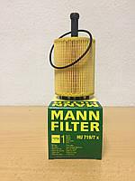 Фильтр масляный VW Caddy III 1.9TDI / 2.0SDI / 2.0TDI (MANN-FILTER) HU719/7X