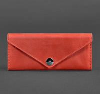 Женский кожаный кошелек Керри 1.0 (коралловый), фото 1