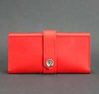 Кожаное женское портмоне 3.0 (коралловое), фото 1