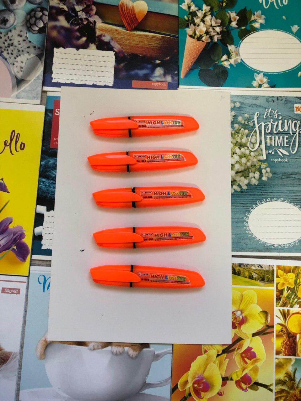 Цветной текстовыделителей Highlighter Оранжевый