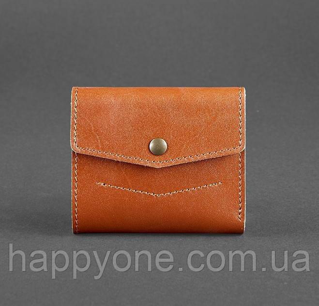 Кожаный кошелек 2.1 (светло-коричневый)