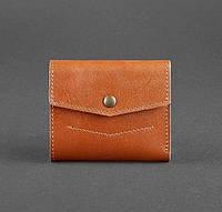 Кожаный кошелек 2.1 (светло-коричневый), фото 1