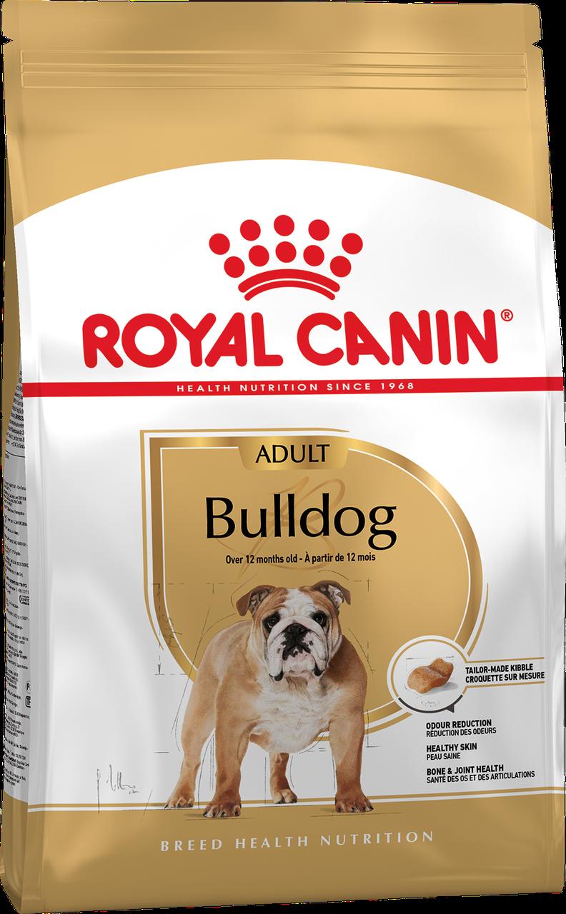Корм для собак порды бульдог Royal Canin BULLDOG ADULT 3 кг