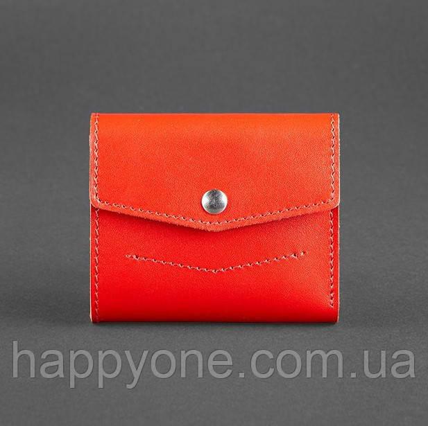 Женский кожаный кошелек 2.1 (красный)