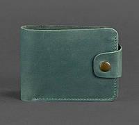 Кожаное портмоне 4.3 (зеленое), фото 1