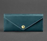 Женский кожаный кошелек Керри 1.0 (зеленый), фото 1