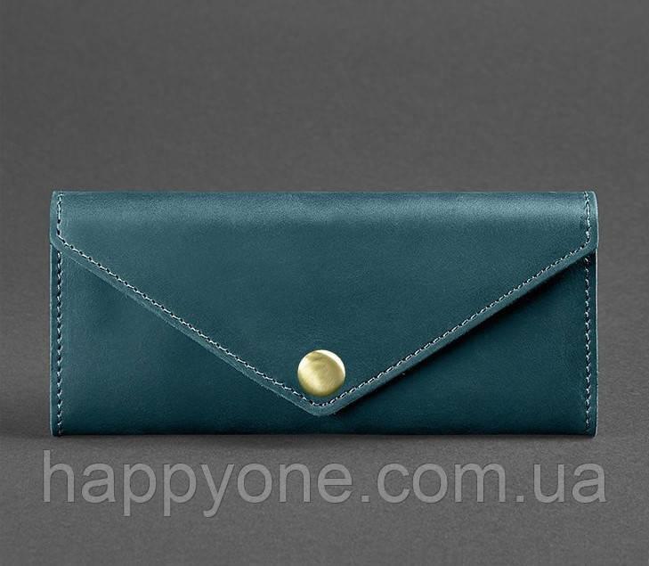 Женский кожаный кошелек Керри 1.0 (зеленый)