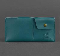 Женское кожаное портмоне-купюрник 8.0 (зеленое), фото 1