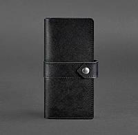Кожаное женское портмоне 3.1 Blackwood (кожа портофино) черное, фото 1