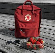 Спортивний рюкзак Kanken (бордовий) - Унісекс