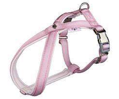 Trixie Шлейка Softline Princess, S: 35–56 см/15 мм, нейлон, розовый