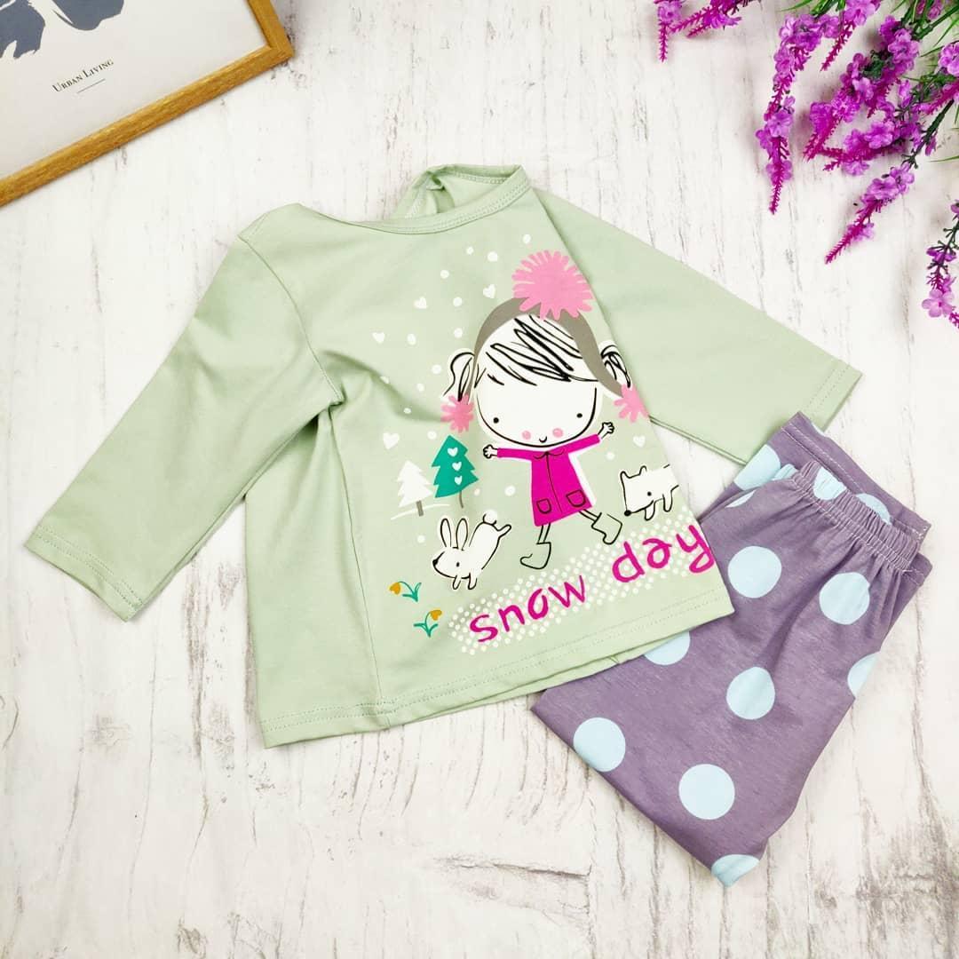 Детская пижама SNOW DAY 90