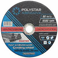 Круг шлифовальный для металла Polystar Abrasive 180 6,0 22,23
