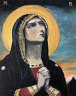 """Картина маслом на холсте на религиозную тематику """"Молитва"""" 40х50 см"""