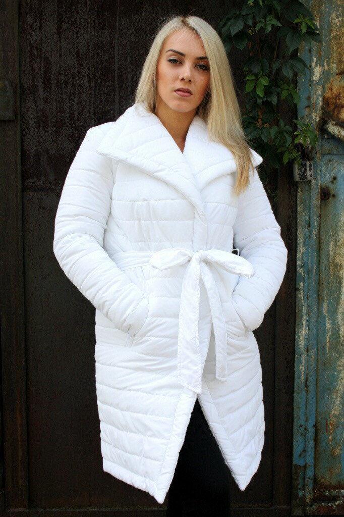 Зимняя куртка с поясом К Бант с 03