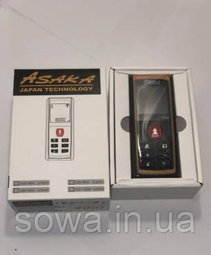 ✔️Лазерный дальномер, рулетка - ASAKA X40 • компактный четкий луч, фото 2