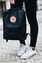 Спортивний рюкзак Kanken (чорний) - Унісекс