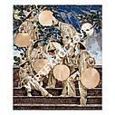 Художественная мозаика из мрамора под заказ, фото 3