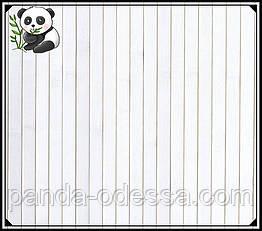 "Бамбуковые обои ""Белые"" 0,9 м, ширина планки 17 мм / Бамбукові шпалери"