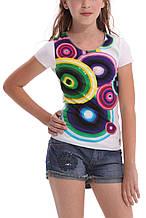 Детская футболка для девочки Desigual Испания 40T3034 Белый