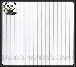 "Бамбуковые обои ""Белые"" 1,5 м, ширина планки 17 мм / Бамбукові шпалери"