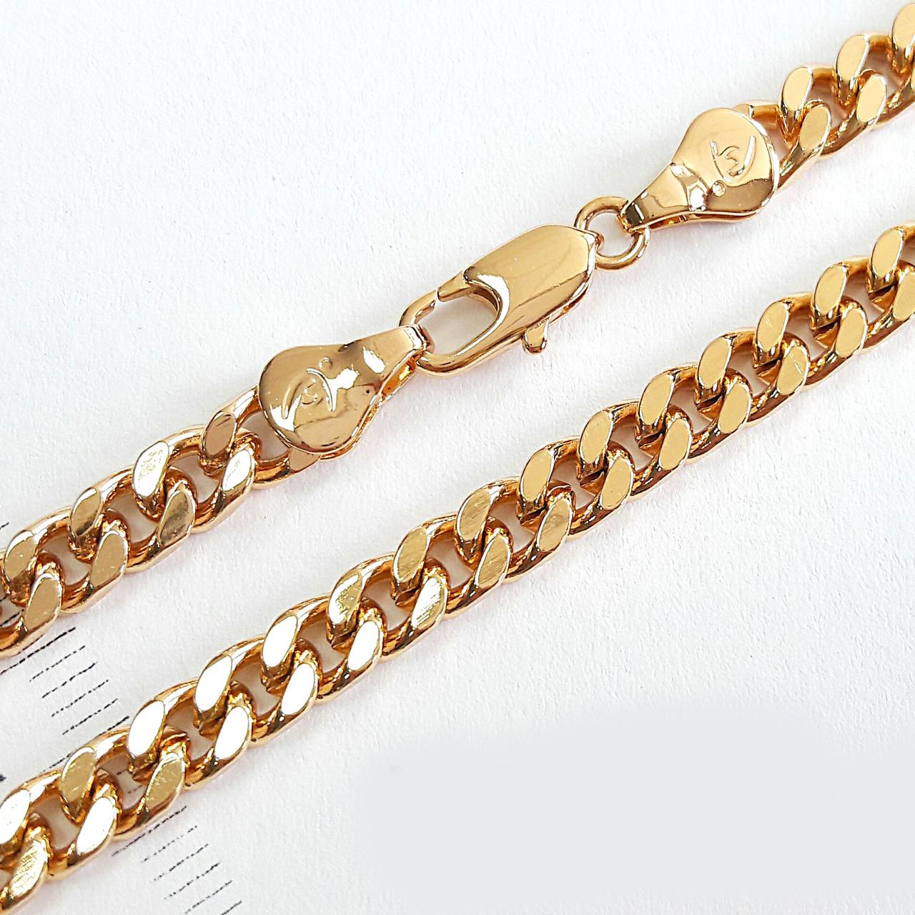 Ланцюжок xuping 5мм 50см панцирні плетіння ц657