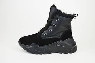 Ботинки замшевые зимние спорт Prima 2102, фото 2