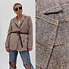Женский удлиненный пиджак свободного кроя, в расцветках. АВ-4-0919, фото 4