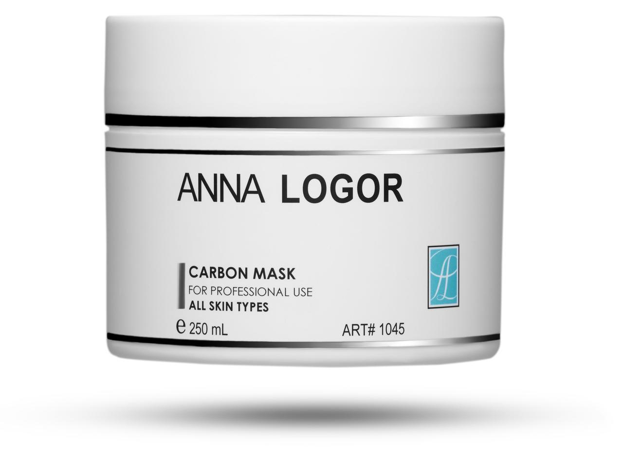 Маска Карбоновая Anna LOGOR Carbon Mask 250 ml Art.1045