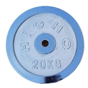 Блины( диски) хром, 20кг