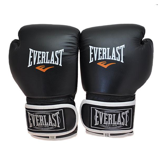 Боксерські рукавички Everlast, DX-445, 6oz чорний..