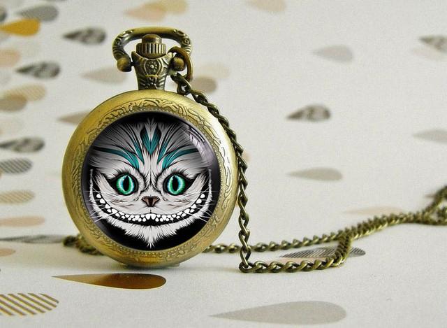 карманные часы Алиса в стране чудес / Alice in Wonderland