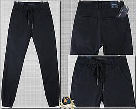 Модные мужские джинсы джоггеры однотонного цвета на резинке