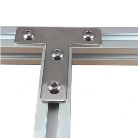 Пластина з'єднувальна Т-образна для профілю 30х30, стальна