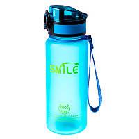 Бутылка для воды SMILE, 650мл, 8810, цвета в ассортименте