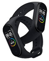 Фитнес браслет Smart Band 4 Black точная копия 1 в 1, смарт часы