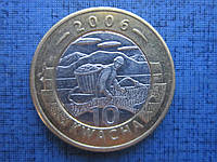 Монета 10 квача Малави 2006