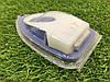 Фара-стоп силикон большая белая/синяя, фото 5