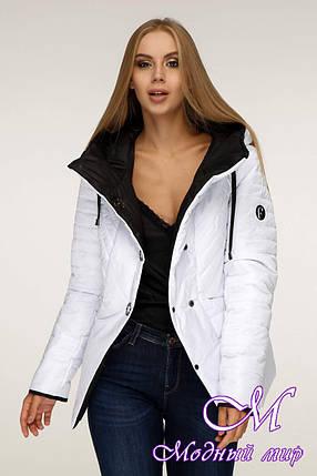 Стильная демисезонная куртка женская (р. 44-54) арт. 1196 Тон 10, фото 2