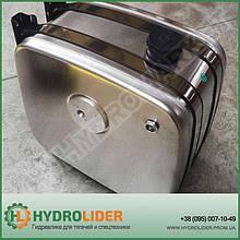 Бак гидравлический (гидробак) бокового крепления 180 л алюминиевый (62х47х67)