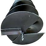 Шнек для бензобура для грунта 300 мм, фото 2