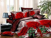 Комплект постельного белья : Поликоттон 3D ( все размеры) XHY1387