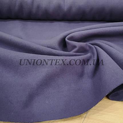Ткань пальтовая кашемир лавандовый, фото 2