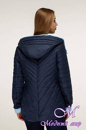 Демисезонная стильная куртка женская (р. 44-54) арт. 1196 Тон 18, фото 2