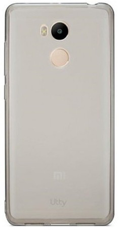 Utty Ultra Thin TPU силиконовая накладка для Xiaomi Redmi 4 Pro черная прозрачная