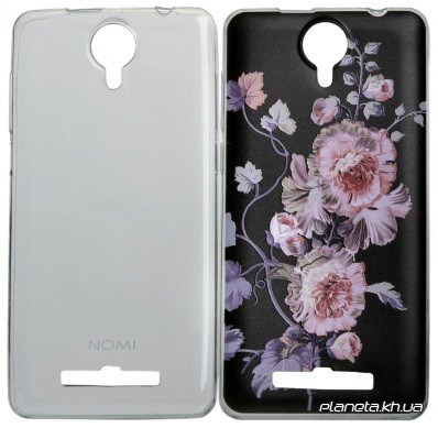 Nomi Case Combo 2 in 1 Набор накладок ( Ultra Thin + 3DPat Clear ) для Nomi i5010 (z9674)