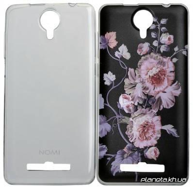 Nomi Case Combo 2 in 1 Набор накладок ( Ultra Thin + 3DPat Clear ) для Nomi i5010 (z9674), фото 2