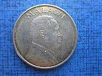 Монета 1 квача Малави 1996 фауна птица